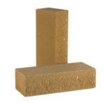 Кирпич полнотелый фактурный колотый КСЛФ2 цвета Песчаник