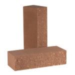 Кирпич полнотелый фактурный колотый КСЛФ5 цвет Шоколад