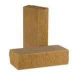 Кирпич полнотелый стандартный фактурный тычковый КСЛТ2 — цвет Песчаник