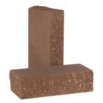 Кирпич полнотелый стандартный фактурный тычковый КСЛТ5 цвет Шоколад