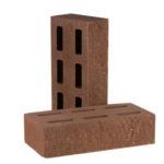 Кирпич декоративный пустотелый фактурный КСПФ5 — цвета Шоколад