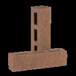 Кирпич пустотелый узкий (КУПФ5) — цвет Шоколад