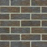 Клинкерный кирпич Roben — Hobart антрацитово-коричневый с оттенком