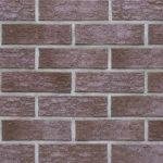 Клинкерный кирпич Roben – Ross 79 бордовый рваный