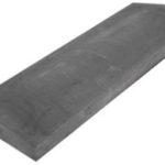 Крышка для пролета забора бетонная серая