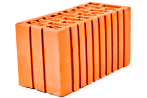 Кирпич (камень) керамический рядовой пустотелый двойной