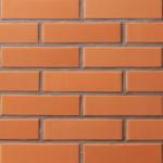 Облицовочный печной кирпич красный LODE JANKA 250x85x65