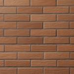 Облицовочный пустотелый кирпич светло-коричневый Vecais RŪDIS 250x85x65