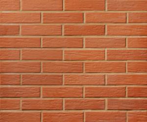 Красный облицовочный кирпич Лоде с ретро поверхностью