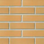 Облицовочный пустотелый кирпич темно-желтый LODE DZINTRA 250x85x65